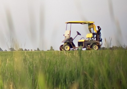 golf cart at Bathurst Glen