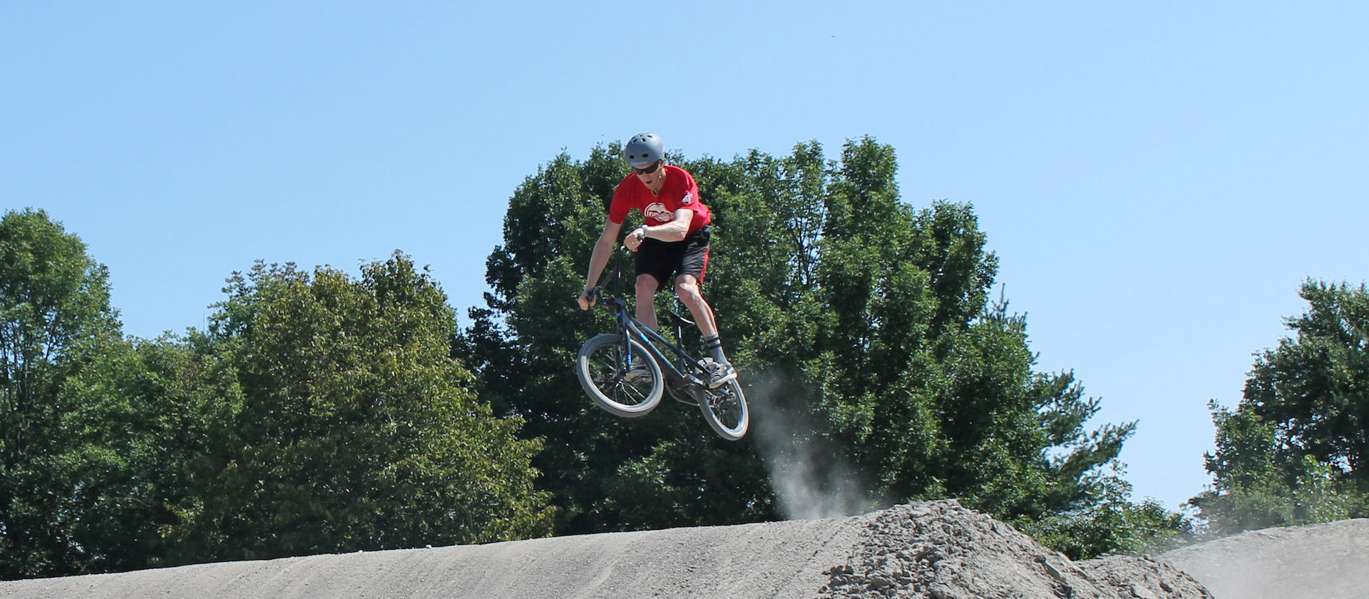 BMX at Bruce's Mill Conservation Area hero image
