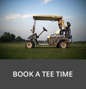 Bathurst Glen golf course book tee time button