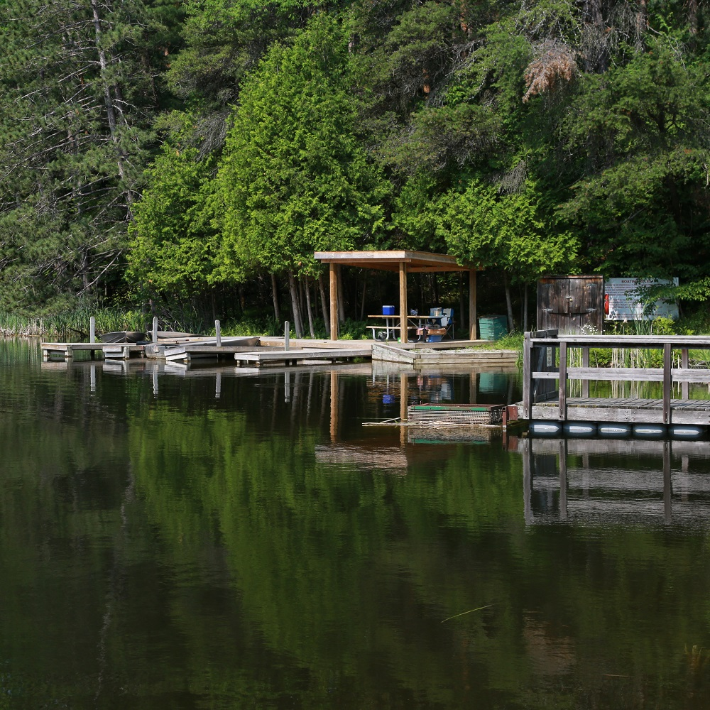 fishing pond at Glen Haffy Conservation Area