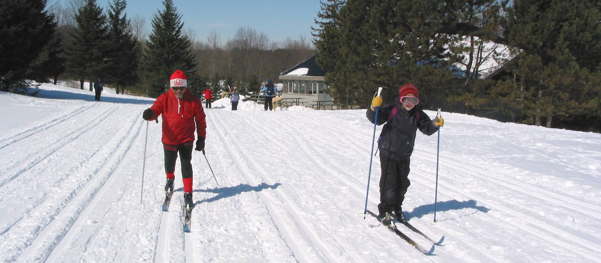 TRCA cross-country skiing at Albion Hills Conservation Area hero image