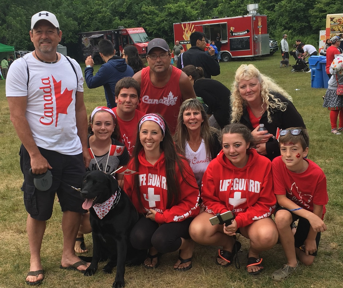 Caledon canada day celebrations at albion hills conservation area