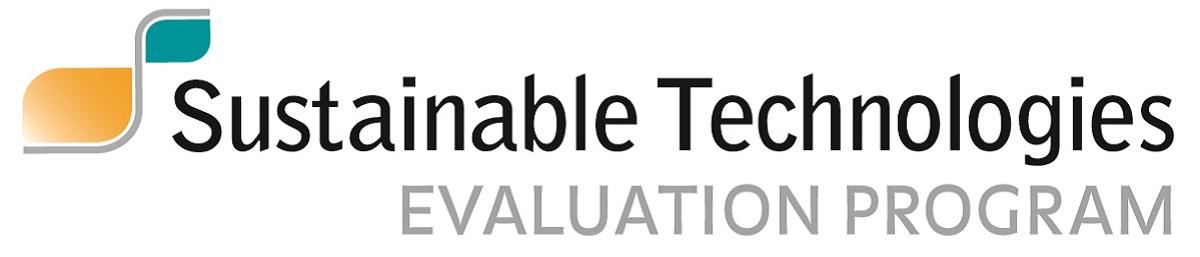 Sustainable Technologies Evaluation Program logo