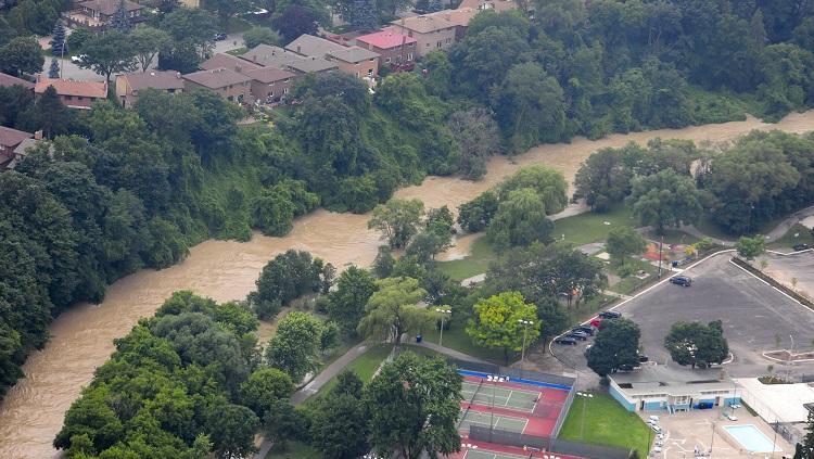 TRCA flood risk monitoring prepare