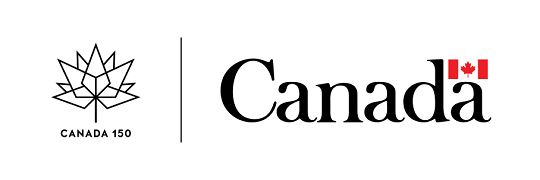 Canada 150 logo and wordmark