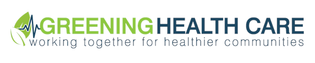 Greening Health Care logo