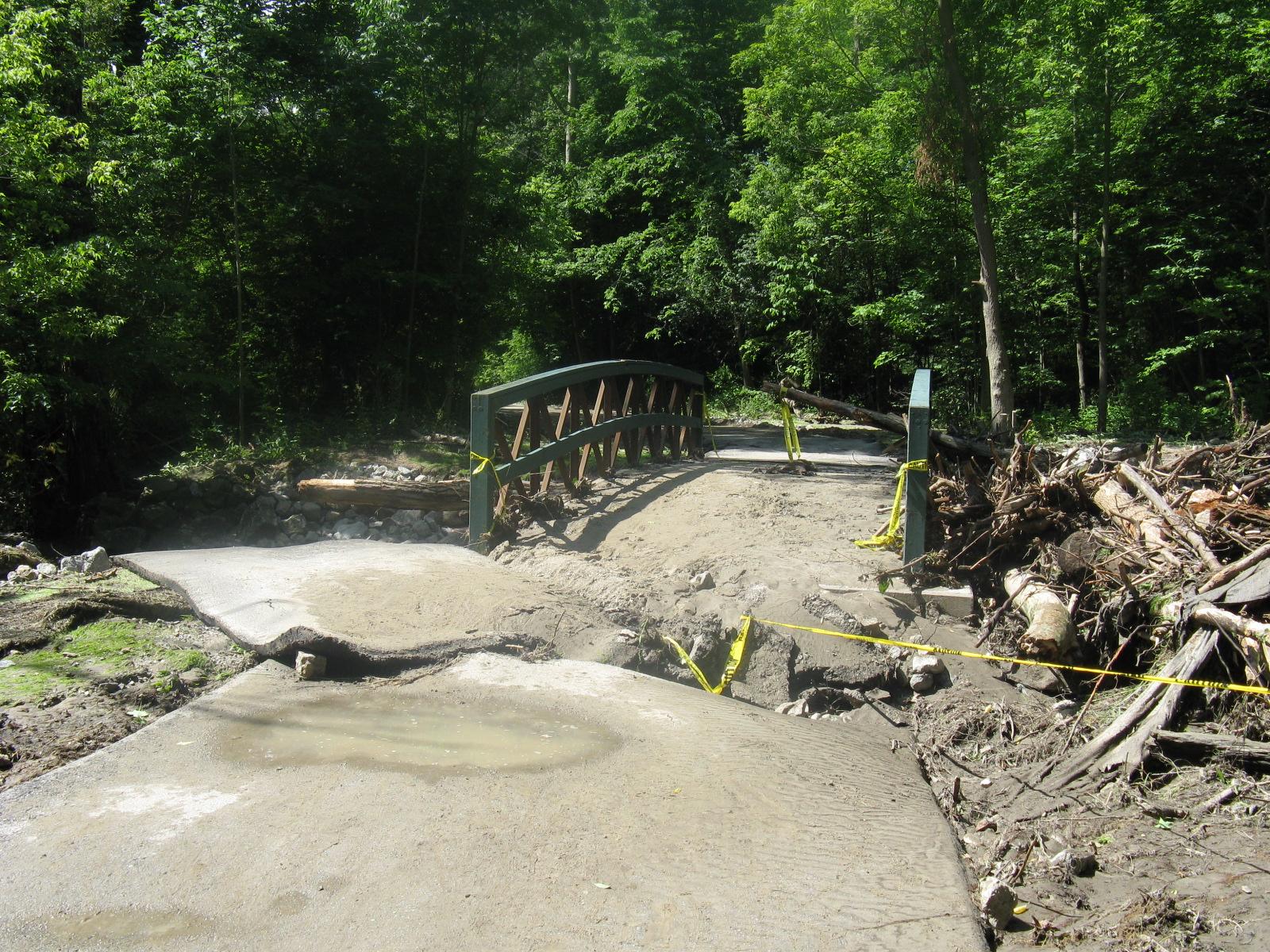 Post 2005 storm damage