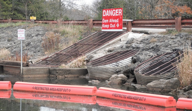 flood control structures safety precautions