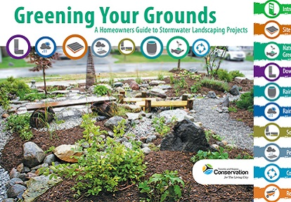 cover page of Greening Your Grounds guide