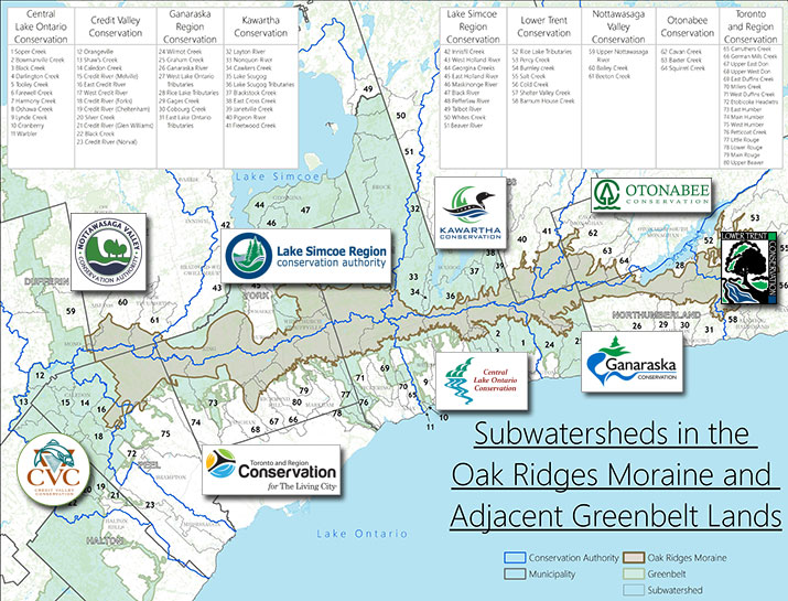 Oak Ridges Map