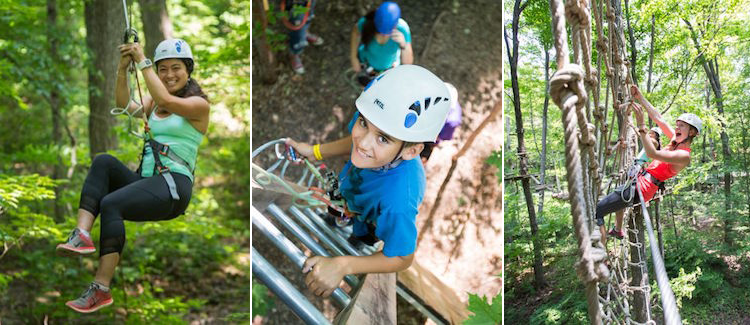 Treetop Trekking at Bruce's Mill Conservation Area
