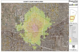 County Court cycling map