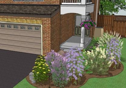 Eco landscaping design