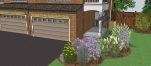 Eco-landscaping Butterfly Garden design