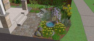 Eco-landscaping Songbird Garden design