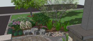 Eco-landscaping Cottage Oasis design
