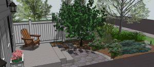 Eco-landscaping Sanctuary Garden design