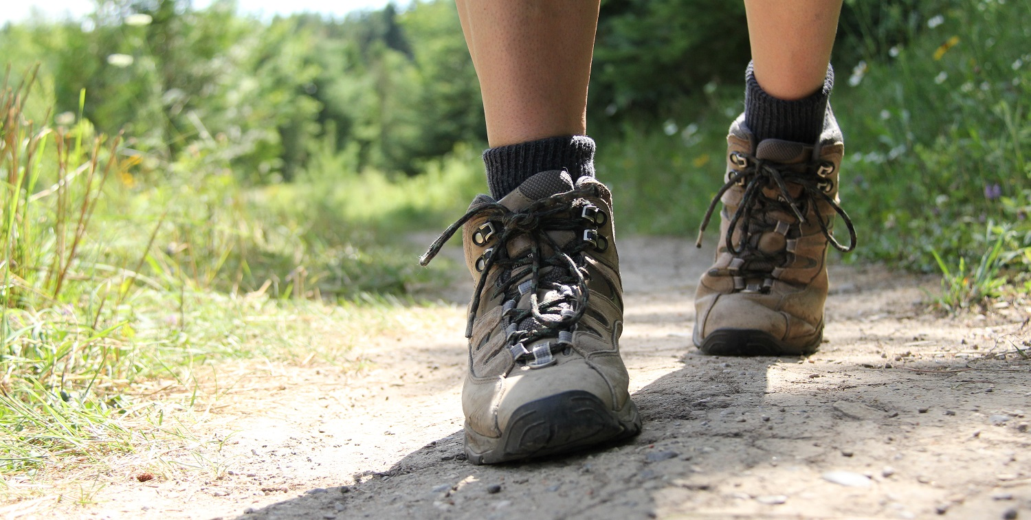 An example of trail-appropriate footwear