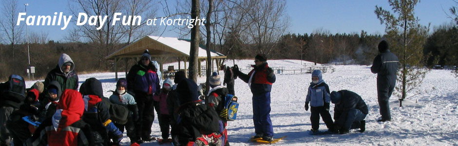 Family Fun Day at Kortright Centre post card