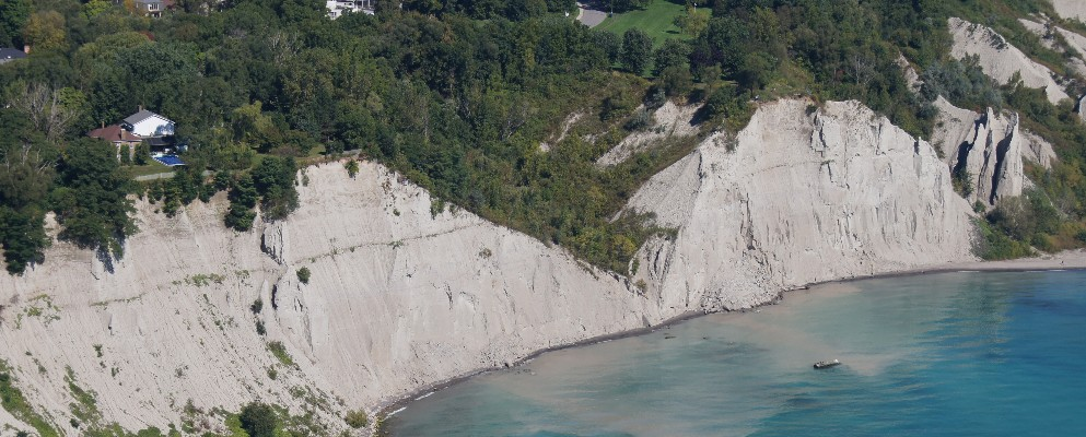Scarborough Bluffs erosion