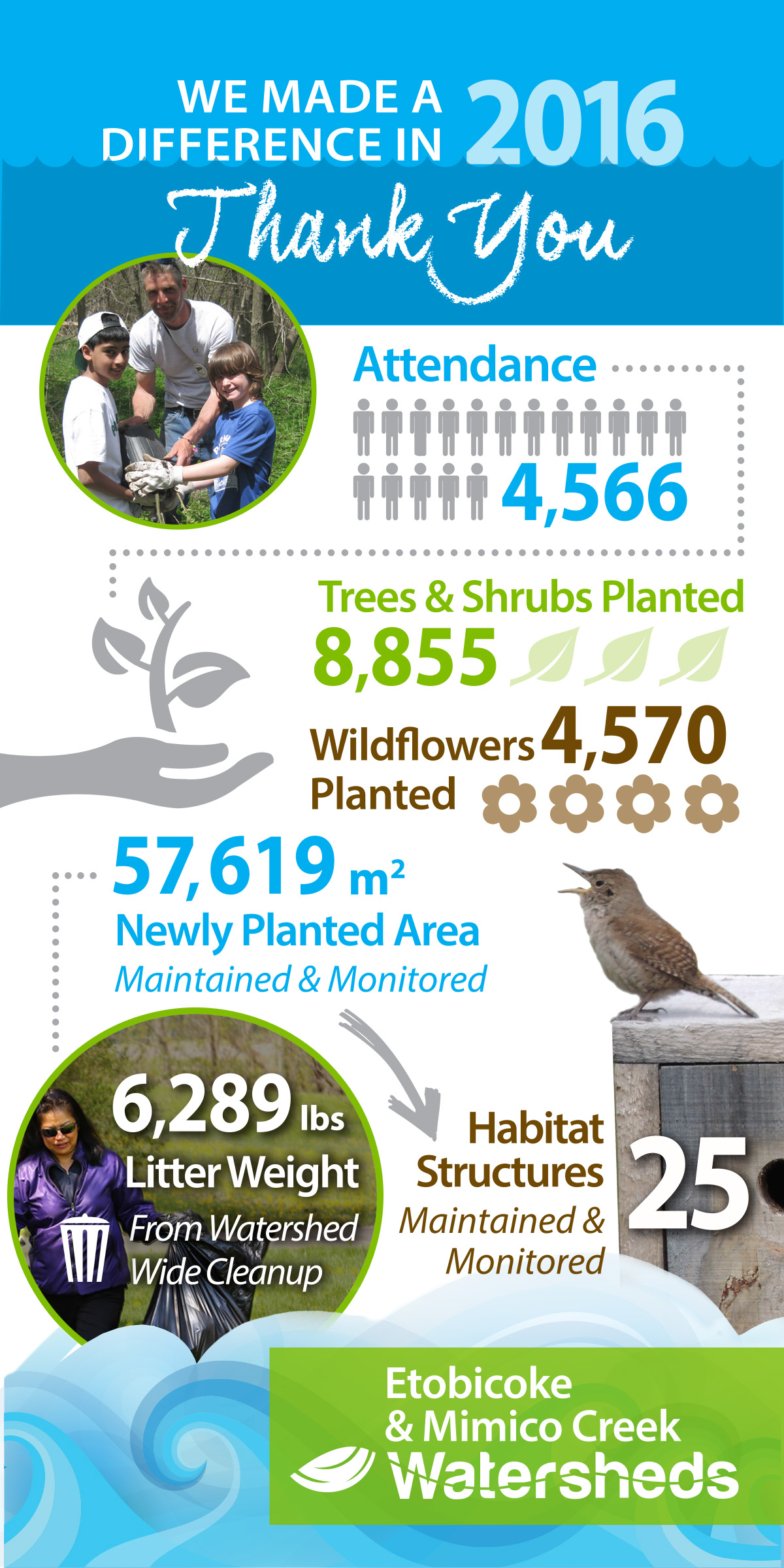 Watershed Year End Infographic