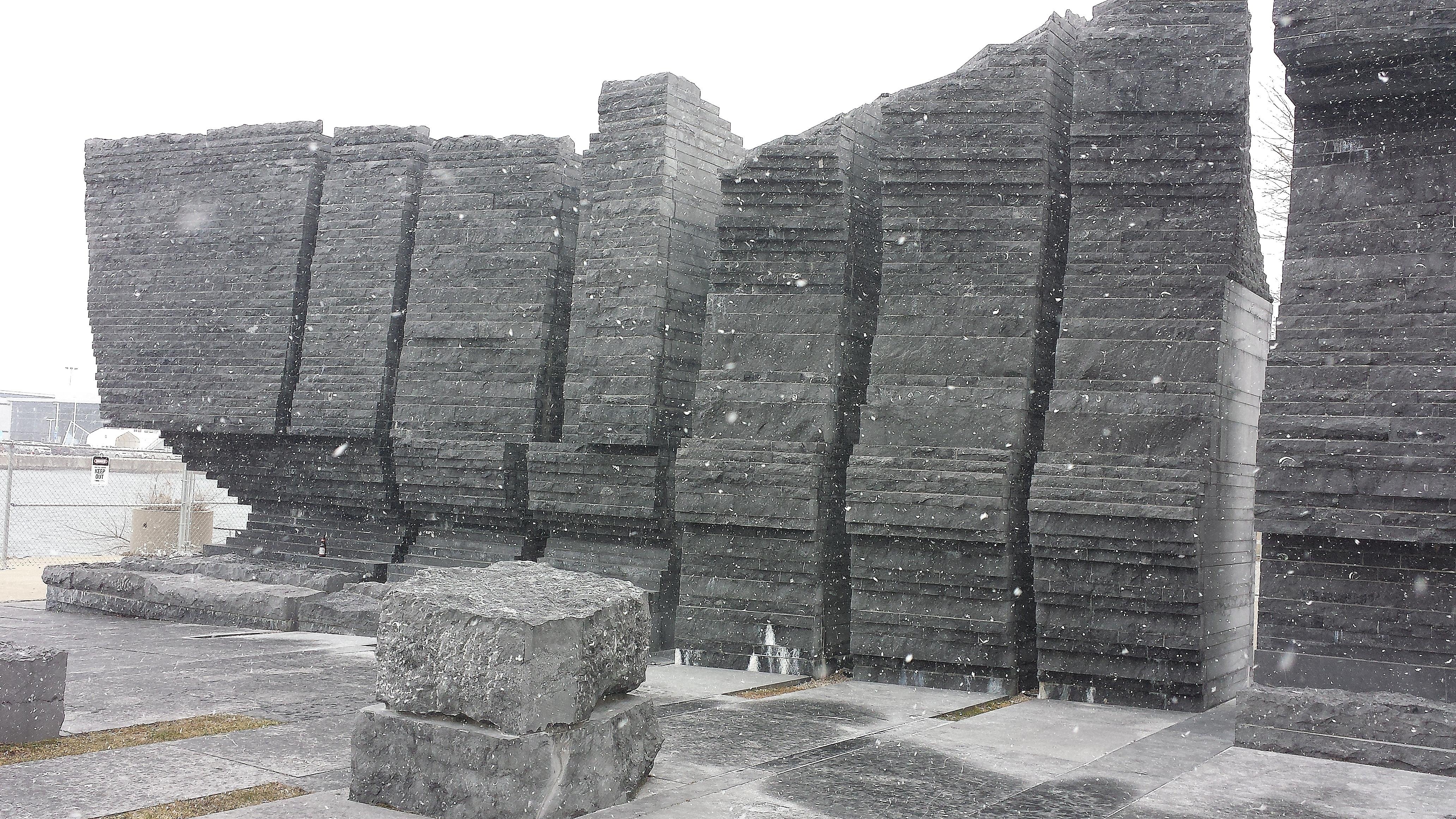 Limestone sculpture