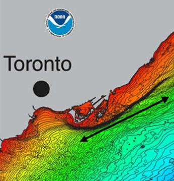 map of Toronto Scarp
