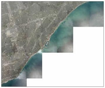 post glacial shorelines map