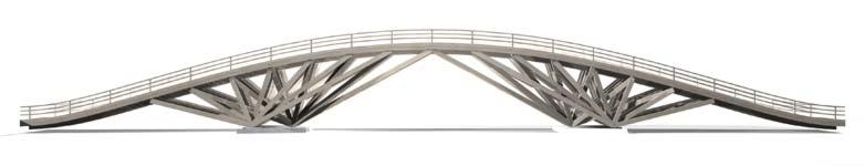 artist's rendering of Spadina Bridge