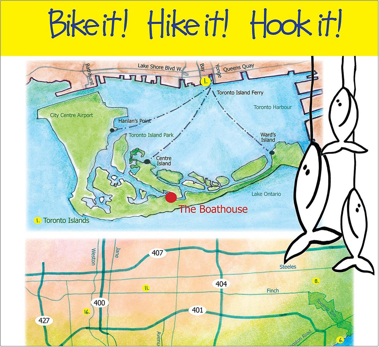 cover of Toronto Fishing brochure