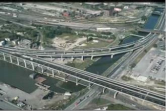 aerial view of Don River