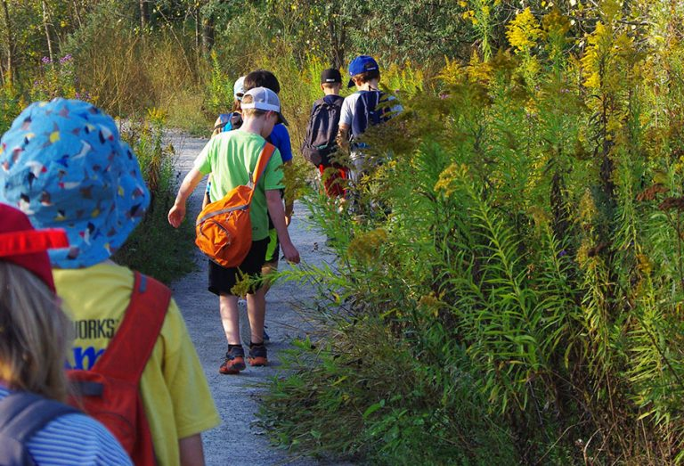 Nature Camp at Tommy Thompson Park