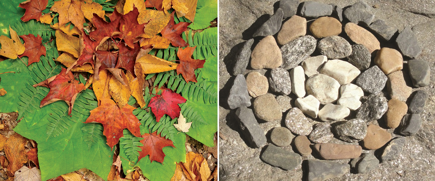 examples of ephemeral nature art