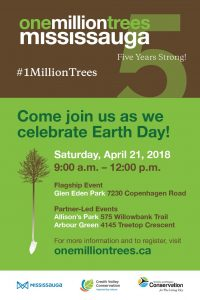 One Million Trees Earth Day Celebration @ Allison's Park | Mississauga | Ontario | Canada