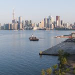 view of Toronto skyline
