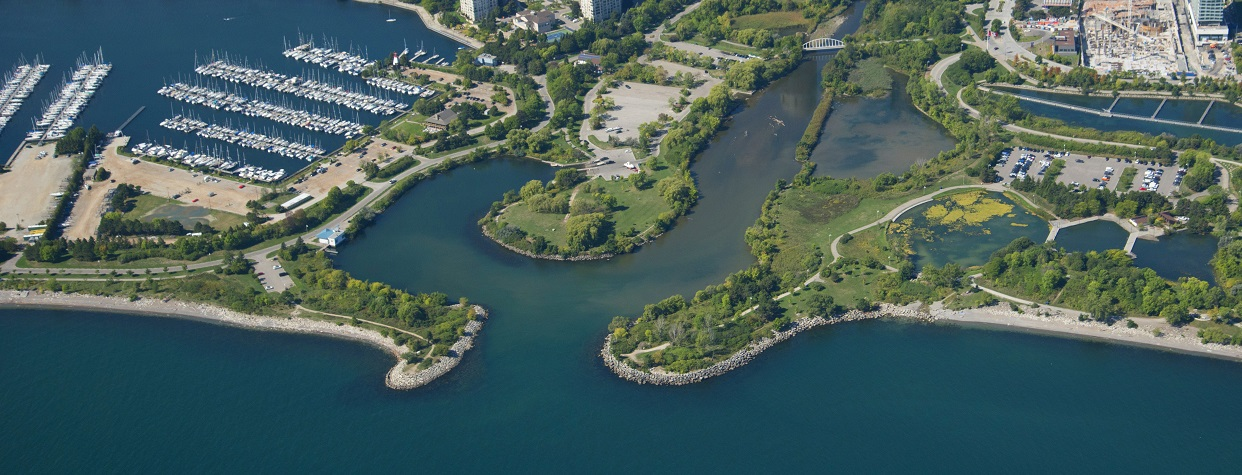 mouth of Mimico Creek