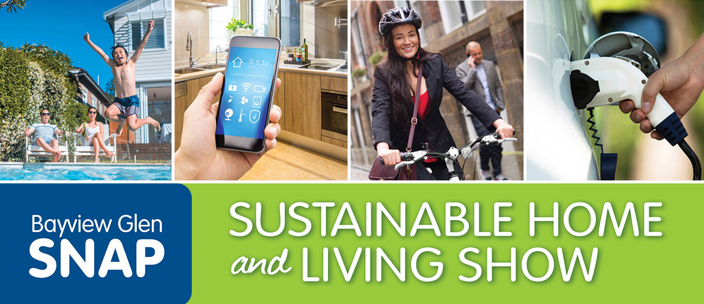 Bayview Glen SNAP sustainable living show banner