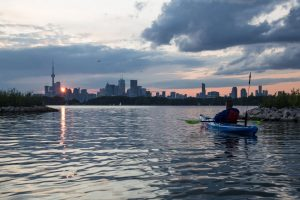 Tommy Thompson Park Urban Wilderness Sunrise Kayaking Tour @ Toronto | Ontario | Canada