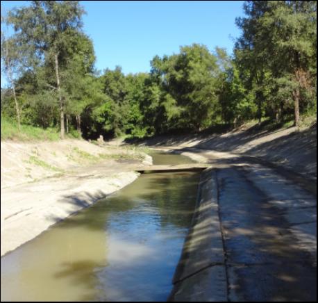 Flood control channels