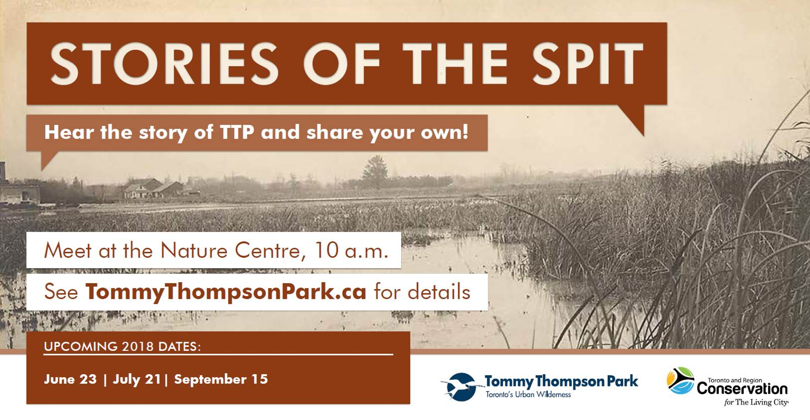Stories of the Spit @ Tommy Thompson Park |  |  |