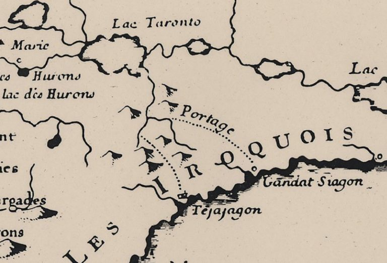Charlevois Bellin map