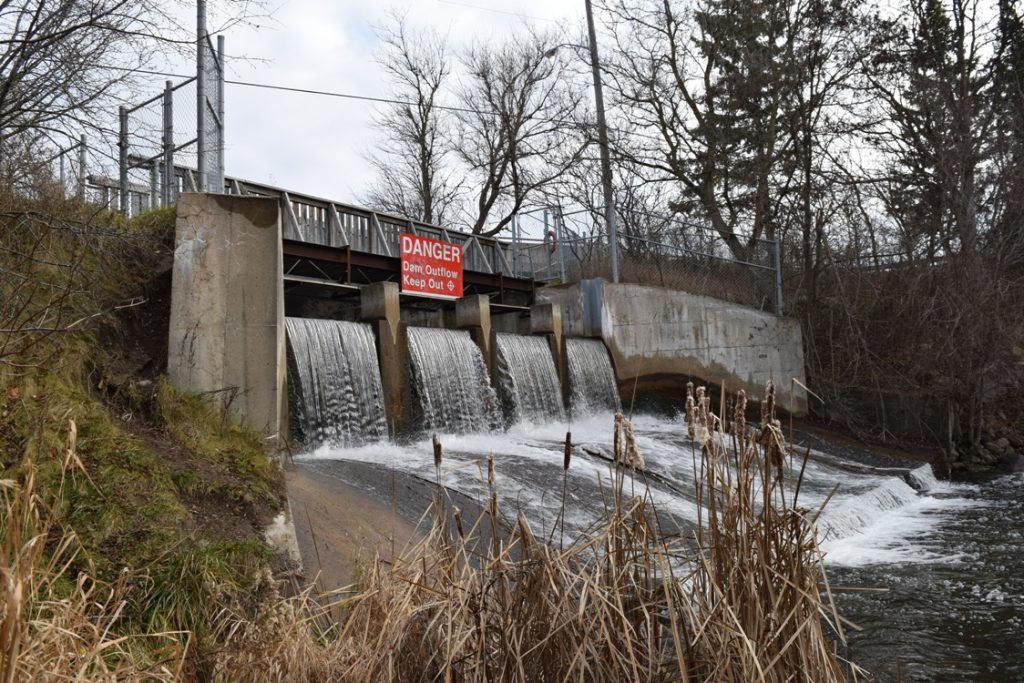 TRCA flood control infrastructure