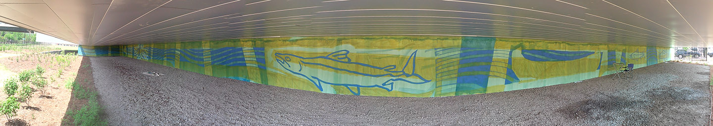 Don River mural on May 28 2018