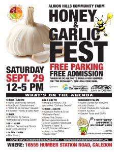 Honey & Garlic Fest @ Albion Hills Community Farm | Caledon | Ontario | Canada