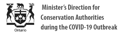 Minister's Direction for Conservation Authorities during the COVID-19 Outbreak